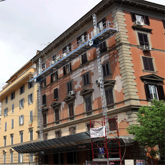 Gruppo Nord Ponteggi - Ponteggio mobile