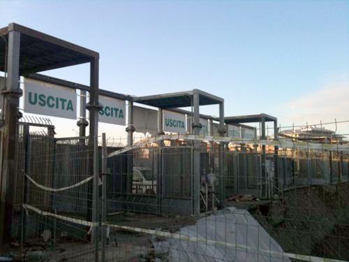 Gruppo Nord Ponteggi - Stadio Juventus (1)